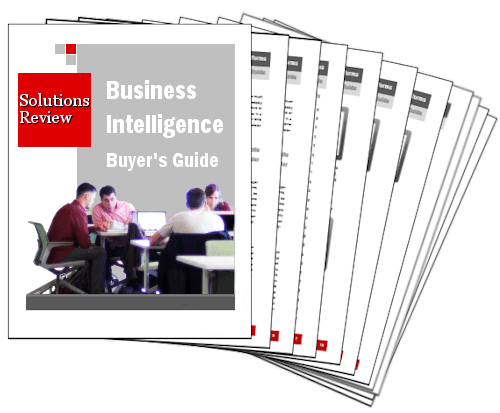 2016 Business Intelligence & Data Analytics Buyers Guide Cover
