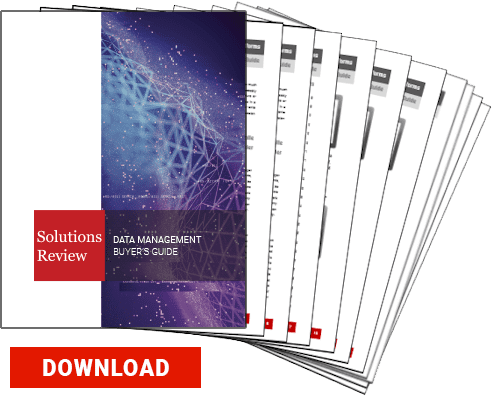 2019 Solutions Review Data Management, Data Warehouse Buyer's Guide
