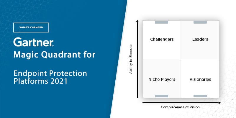 What's Changed: 2021 Gartner Magic Quadrant for Endpoint Protection Platforms (EPP)
