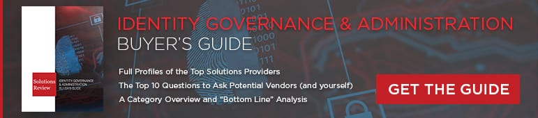 Download Link to Identity Governance and Administration Buyer's Guide
